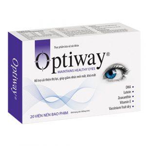 Optiway là sự kết hợp độc đáo của bài thuốc Y học cổ truyền từ Phương Đông (Ocuten) và thảo dược quý hiếm từ Châu Âu (Bilberry)