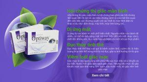Optiway - viên uống bảo vệ sức khỏe đôi mắt
